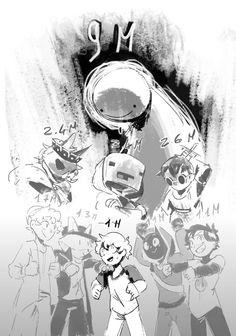 My Dream Team, Just Dream, Dream Friends, Minecraft Fan Art, Dream Art, Pretty Art, Streamers, Haha Funny, Techno