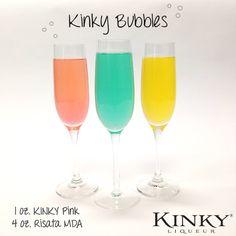 KINKY® Bubbles! So Delicious!