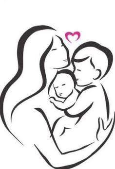 Kuvahaun tulos haulle mother two children tattoo