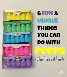6 Things to Do With Peeps Besides Eating Them (PHOTOS)
