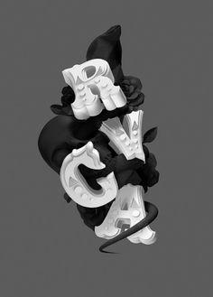 Área Visual: La tipografía experimental de Like Minded Studio