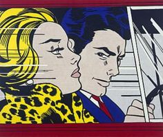 Andy Warhol, Jasper Johns, Tom Wesselmann and Roy Lichtenstein represent the colossuses of the Pop Art Movement which started in the Controversy always surrounds artists, but nothing compares with how the critique welcomed Lichtenstein's work. Art And Illustration, Roy Lichtenstein Pop Art, Comic Kunst, Comic Art, Comic Books, Arte Pop, Gallery Of Modern Art, Art Gallery, Galerie D'art Moderne