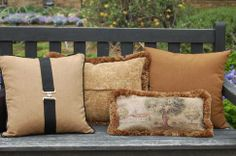 Fine equestrian pillows and accessories for the home and stable.