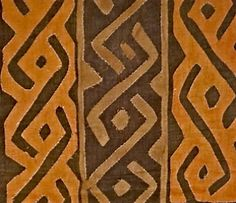 Kuba Cloth Ceremonial Skirt/Panel Raffia Applique Textile Currency African *11 by EthosEthnicArt on Etsy