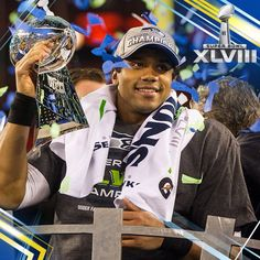 Russell Wilson's first Super Bowl win!!!