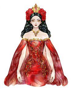 Manga Girl, Anime Art Girl, Vestidos Anime, Chica Cool, Girls With Black Hair, Princess Drawings, Dress Drawing, Fantasy Dress, Digital Art Girl
