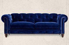 29 Luxury Blue Velvet Sofa Design Ideas For Living Room