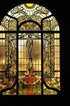 Doesn't everyone need a stained glass window in their house