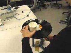 Gramofoni pahvimukista