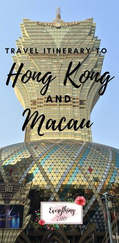 #hongkong #macau #travel | DIY Travel Itinerary to Hong Kong and Macau (SAR, China) | Hong Kong and Macau are one of the most visited destinations in Southeast Asia. Hong Kong and Macau is known for its bustling streets and vibrant lights. Hong Kong and Macau both have a colourful colonial history. #DestinationChina #asiadestinations #chinadestination