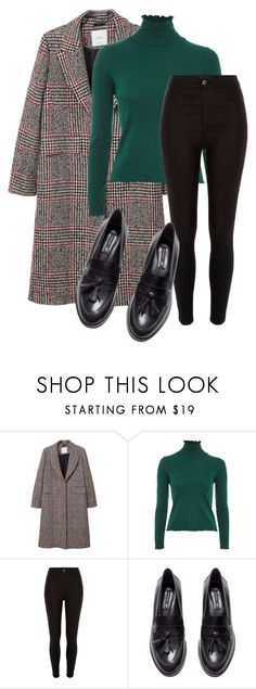 """""""Untitled #1252"""" by lydia-rc ❤ liked on Polyvore featuring MANGO, Topshop, River Island and H&M"""