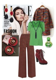 """""""Живо"""" by nikita165 on Polyvore featuring Etro, Lanvin, Nine West, Chico's and Kenneth Jay Lane"""