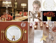 Hollywood theme party ideas for an Academy Awards watch party.