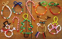 beads and pipe cleaner craft