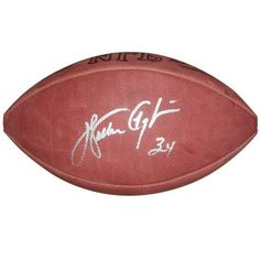 Walter Payton Autographed Wilson NFL Game Football - WP Hologram >>> Read more reviews of the product by visiting the link on the image.