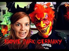 [VIDEO] SUPER SCARY HALLOWEEN HORROR SPECIAL!  Together with our friends Levi and Stephanie we celebrated Halloween at Movie Park Germany. I love Halloween!  If you want to see more of our adventures, make sure to subscribe to my YouTube channel. We will be uploading a new video every Tuesday!