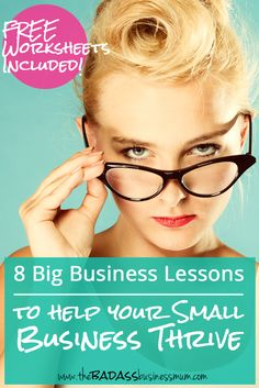8 Important lessons learned from 'Big Business' that you need to implement in your small business to help it thrive and grow and be successful