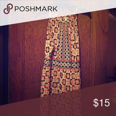 Simple yet cute dress Summer dress, just below the knee. New York & Company Dresses Midi