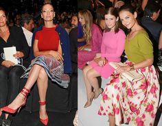 Tendencias de streetstyle en el front row de la New York Fashion Week