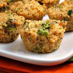 Link to the Broccoli Cheddar Quinoa Bites Recipe