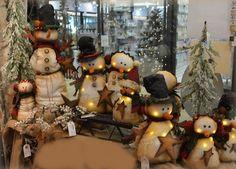 Snowman lumineux RAZ Imports