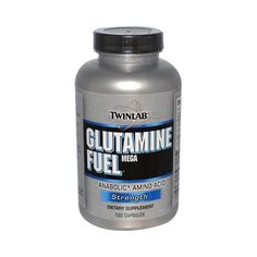 Twinlab Glutamine Fuel Mega Anabolic Amino Acid Strength (1x120 Caps)