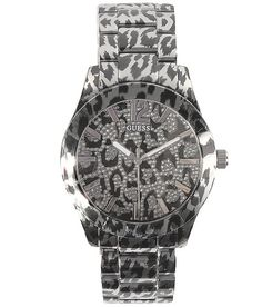 Guess Leopard Print Watch ::I love this::