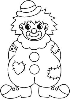 Best Coloring: Sad clown clip art coloring pages - Amazing Coloring sheets - Clown Crafts, Circus Crafts, Carnival Crafts, Free Printable Coloring Pages, Coloring Pages For Kids, Coloring Sheets, Coloring Books, Fish Coloring Page, Circus Theme