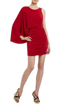Venus Draped Dress from BCBG Max Azaria - this is currently hanging in my closet, waiting to be worn on our trip!!