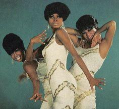 The Supremes - Mary Wilson, Diana Ross, Florence Ballard...