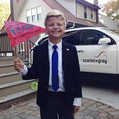 Pin for Later: These Are 2016's 10 Biggest Halloween Costume Trends For Kids Presidential Candidates