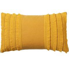 Worldhood Yellow Lillian Tassel Pillow 13 x Yellow Throw Pillows, Diy Pillows, Couch Pillows, Decorative Pillows, Boho Throw Pillows, Maroon Color Palette, Pillos, Yellow Home Decor, Yellow Accents