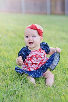 Red Bow Headband. Red Baby Bow Headband. Red by SweetAppleBoutique, $8.00