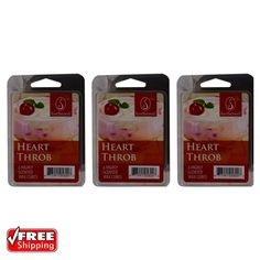 3-Pack ScentSationals Heart Throb Fragrance Highly Scented Wax Cubes Melts Tarts | Home & Garden, Home Décor, Home Fragrances | eBay!