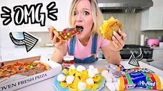 WEIRD Food Combinations People LOVE!! FUNKY FOODS!! Alisha Marie