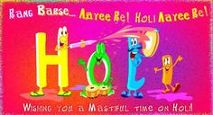 Holi - Desi, India, Hindi, and Punjabi Comments, Graphics, Greetings and Images!