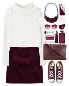 """White Sweater"" by gicreazioni ❤ liked on Polyvore featuring Theory, Converse, Paul Smith, Dolce&Gabbana, Bobbi Brown Cosmetics, Clinique, MAC Cosmetics, Steven Alan, Casetify and Acne Studios"