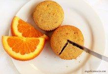 muffin all'arancia e semi di chia