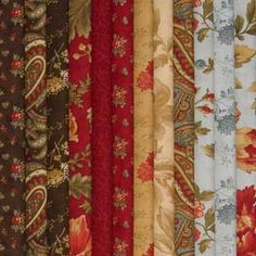 FAT QUARTER DOUBLE CHOCOLATE FABRIC COLLECTION
