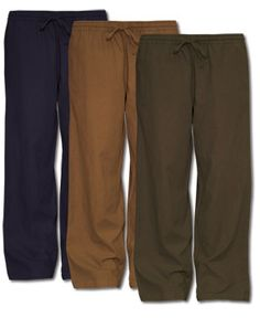 Men's Jammin Hemp Drawstring Pants, $50.00, soul-flower.com. Made with 60% hemp, 40% organic cotton, fair trade.  These pants are not only light weight and comfortable, but also eco friendly. Men, you'd probably be significantly cooler if you wore these britches.