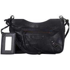 Sale Fashion Style Footlocker Finishline Sale Online Pre-owned - Leather crossbody bag Balenciaga KfZ17ETfj