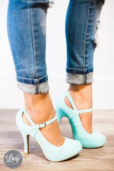 Mary Jane Heels | 4 Colors | 5.5-10