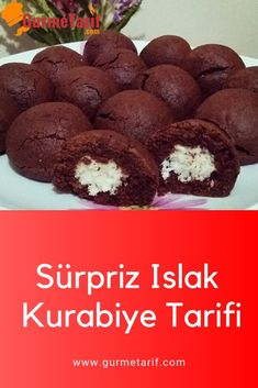 # Islakkurabi to the # Sürprizkurabi to faciles gourmet de cocina de postres faciles pasta saludables vegetarianas Delicious Cake Recipes, Best Dessert Recipes, Yummy Cakes, Fun Desserts, New Recipes, Cookie Recipes, Yummy Food, Healthy Recipes, Biscuits