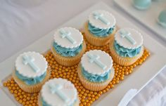 Posts about baptism written by dziminski Christening Cupcakes, Christening Party, Fondant Cupcake Toppers, Cupcake Cookies, Comunion Cakes, Occasion Cakes, Wedding Cupcakes, Baby Shower Cakes, Party Cakes