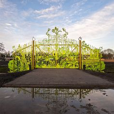 Whimsical garden gates