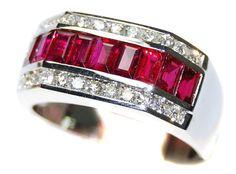 Eternity For Men Ruby Ring Diamond 18K White Gold [RQ0049... https://www.amazon.com/dp/B00BRJ2KG0/ref=cm_sw_r_pi_dp_tr5ExbWXKJV78