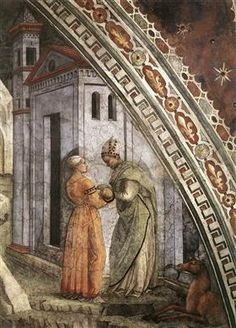 The Birth and Infancy of St. Stephen (detail) - Филиппо Липпи