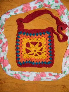 Crochet Marijuana Weed Purse Bag by UnicornLincoln  ~~~UL