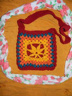 Crochet Marijuana Weed Purse Bag by UnicornLincoln  ~~~UL