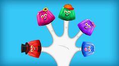 The Finger Family Jelly Family Nursery Rhyme   Jelly Finger Family Songs